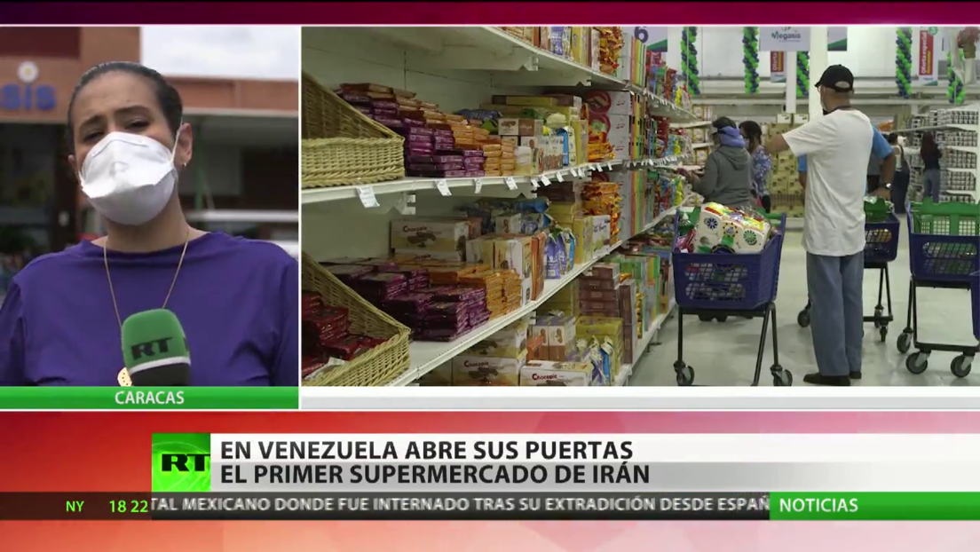 En Venezuela abre sus puertas el primer supermercado de Irán