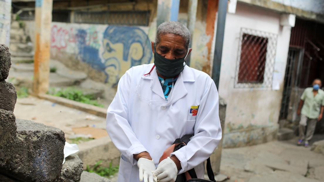 Venezuela registra un récord de 869 casos diarios de coronavirus y el total se acerca a los 19.500