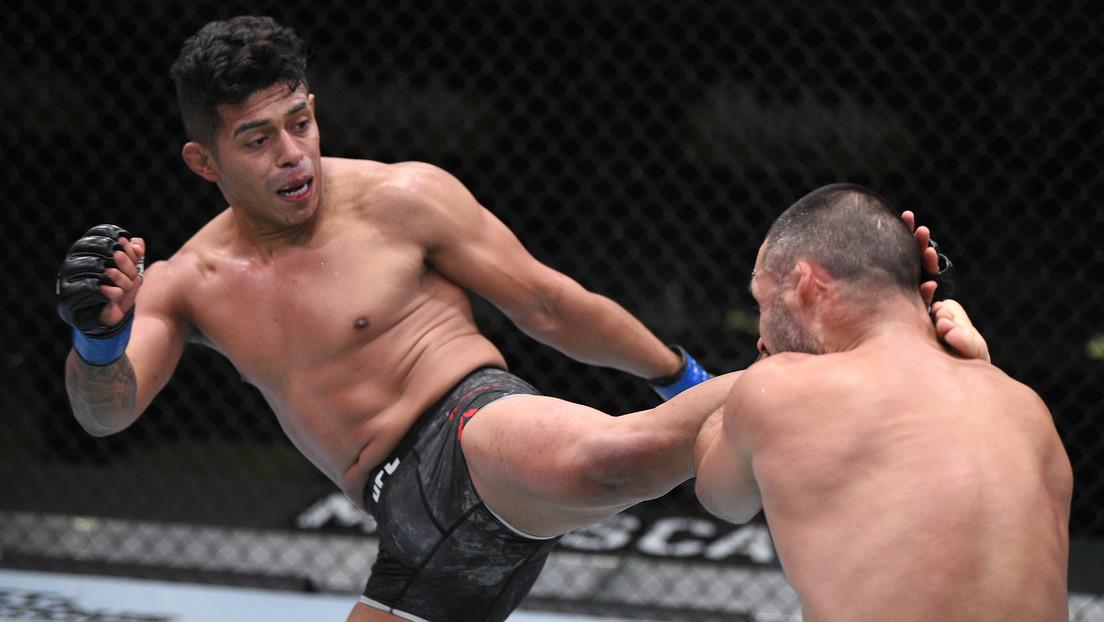 VIDEO: 'Dragón' Martínez lanza un rodillazo con la precisión de un francotirador para noquear a Sáenz en un combate de la UFC