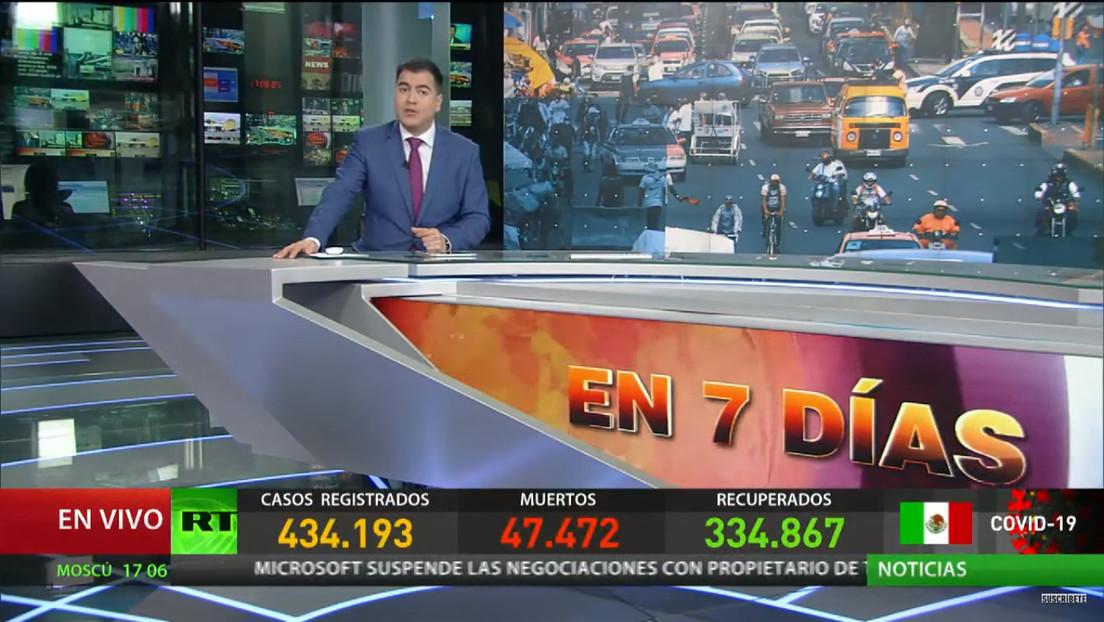 México es el tercer país con más víctimas de covid-19 y Brasil estima llegar a 100.000 muertes en siete días