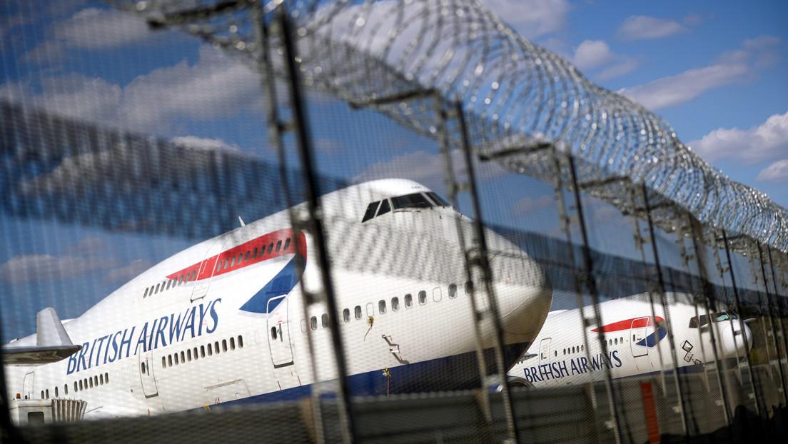 Trabajadores de British Airways deben decidir hoy entre el cese voluntario o un importante recorte salarial