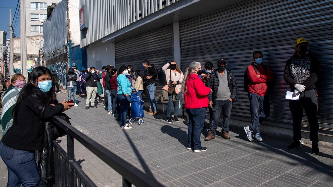 La economía de Chile se desploma un 12,4 % interanual por la pandemia
