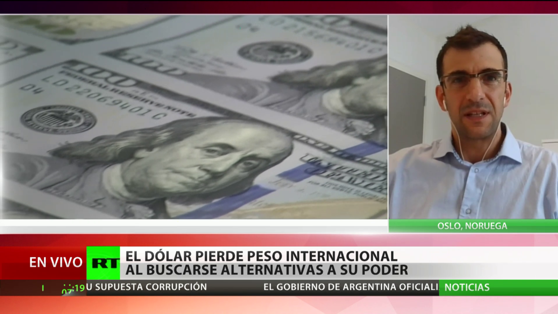Experto pronostica que el dólar caerá en los próximos años frente a otras divisas internacionales