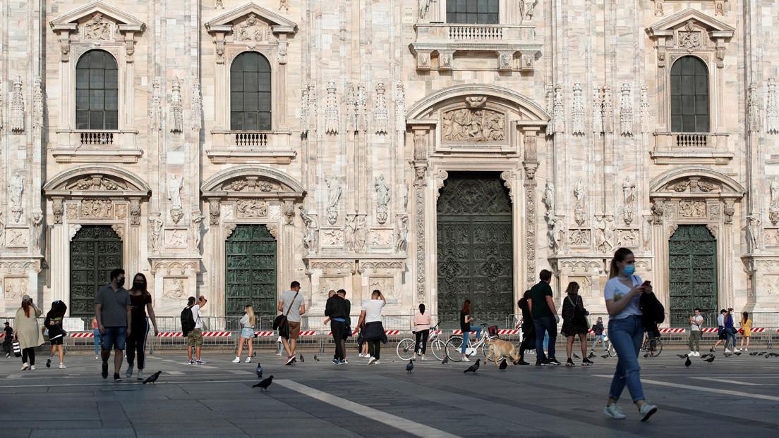Italia estima que más de 1,4 millones de personas se habrían infectado con coronavirus a nivel nacional