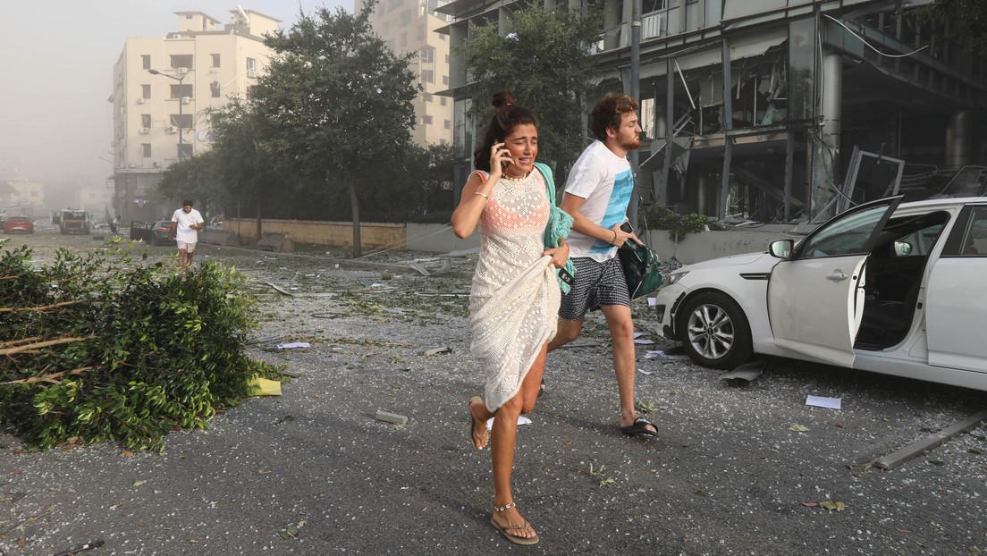 """El gobernador de Beirut califica las explosiones en la capital libanesa como """"un desastre nacional parecido a Hiroshima"""""""