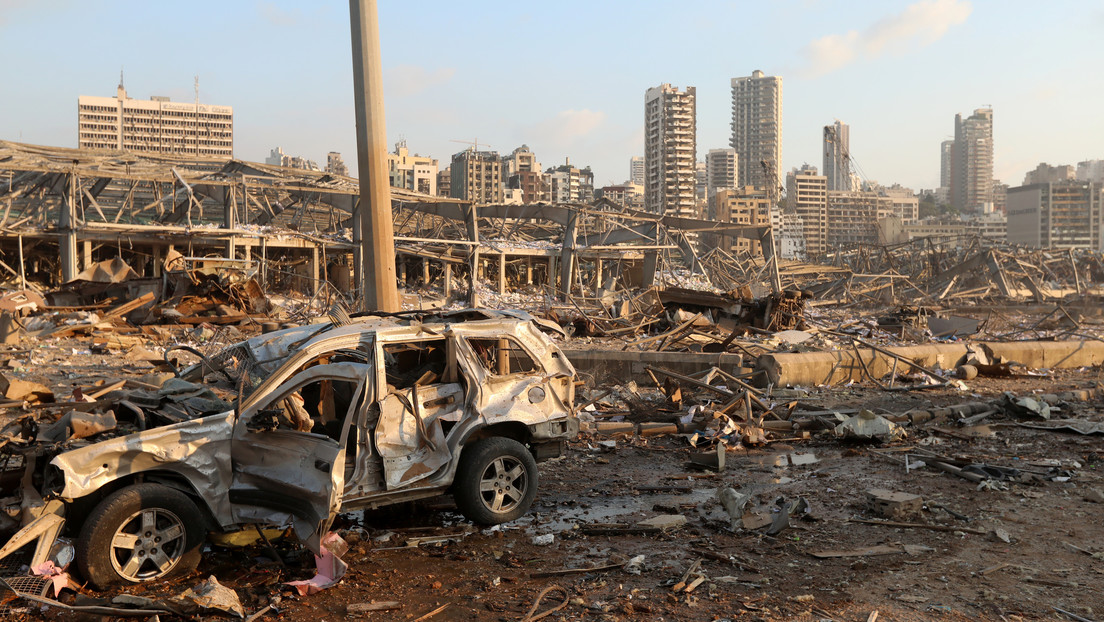El gobernador de Beirut afirma que las explosiones afectaron a aproximadamente la mitad de la ciudad (VIDEOS)