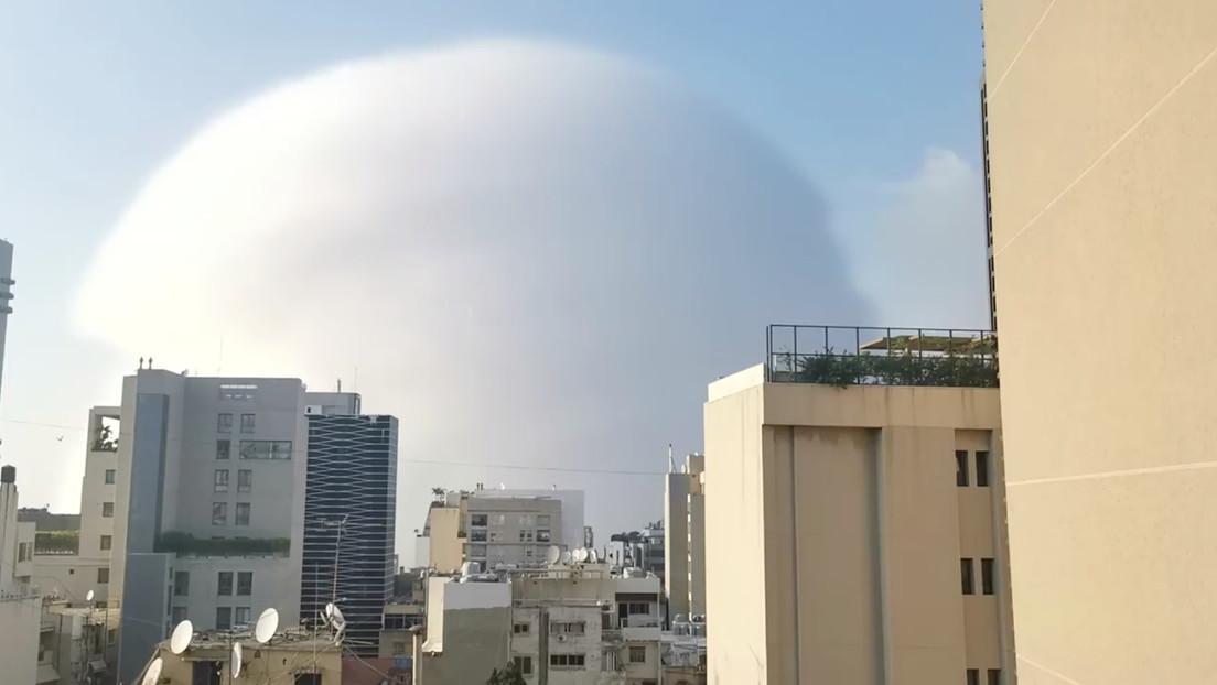 """Impactantes imágenes de Beirut, tras la explosión que se ha convertido en un """"desastre nacional"""""""