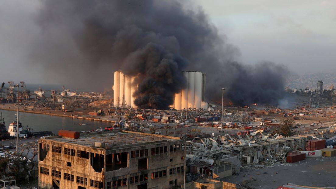 El Ministerio de Salud del Líbano reporta más de 70 muertos y 3.600 heridos tras las explosiones en Beirut