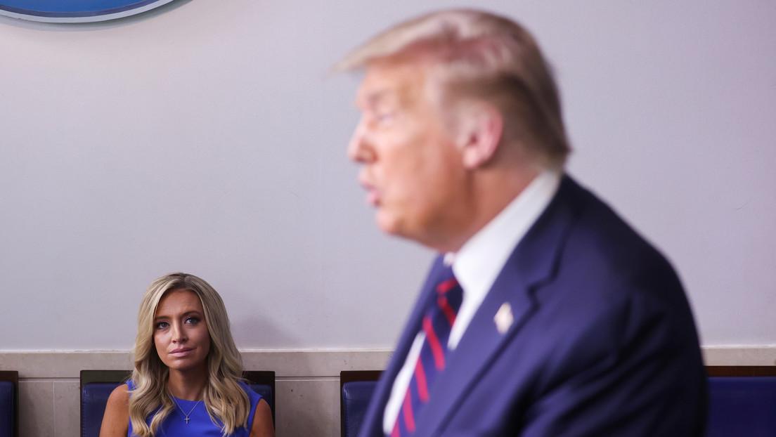 Trump afirma que el Tesoro debería recibir una comisión por la posible venta de TikTok en EE.UU.