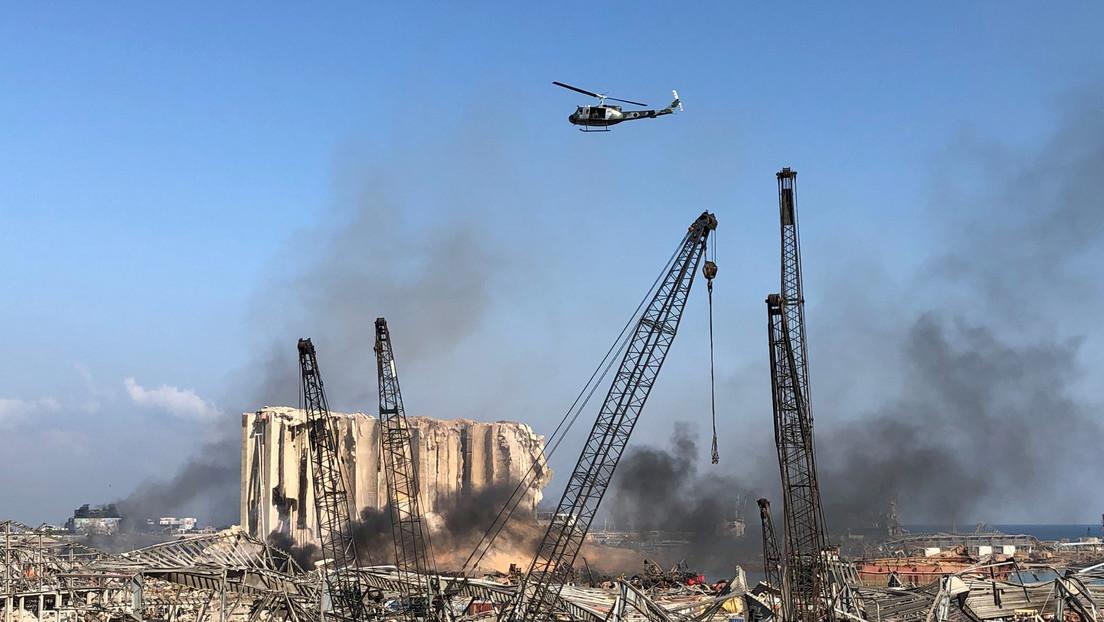 VIDEO: Las zonas afectadas de Beirut, un día después de las devastadoras explosiones