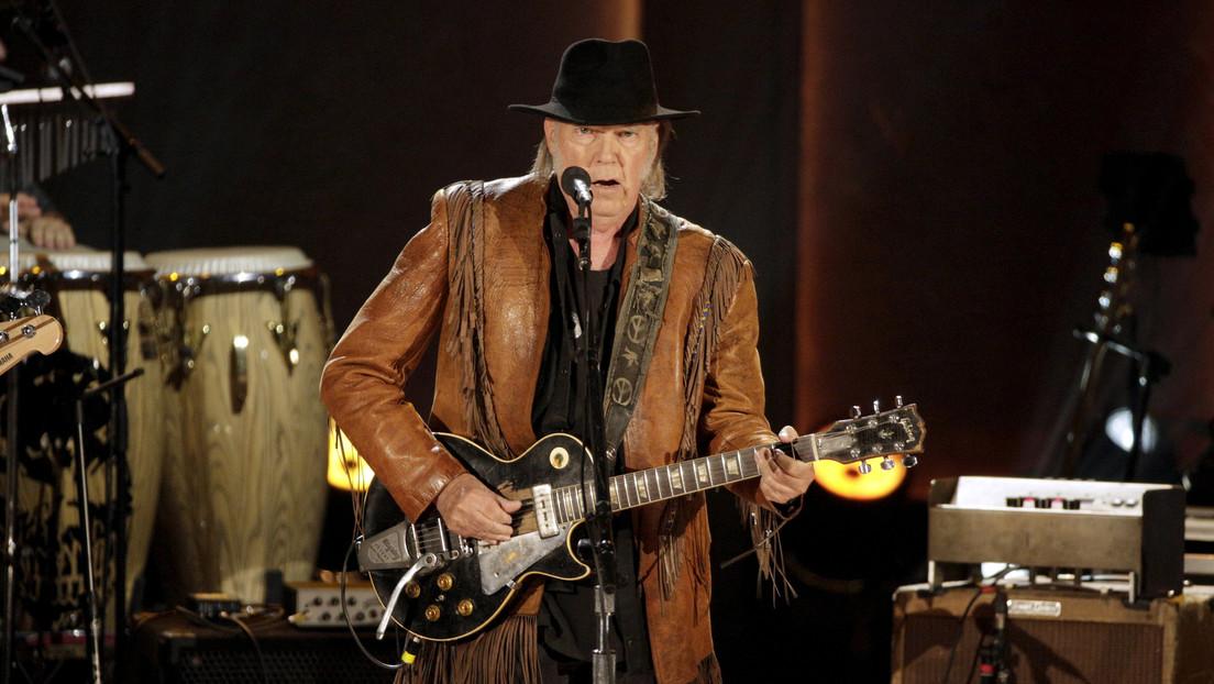 Neil Young demanda a la campaña de reelección de Trump por usar sus canciones en acontecimientos políticos