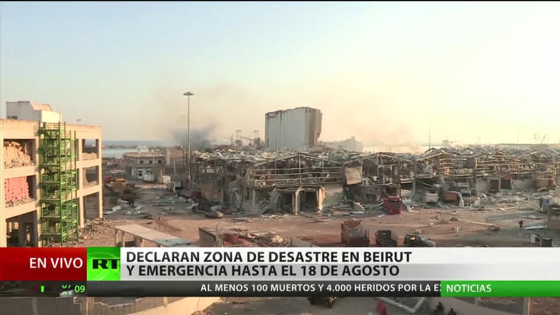 Una residente de Beirut comparte su testimonio sobre la devastadora explosión
