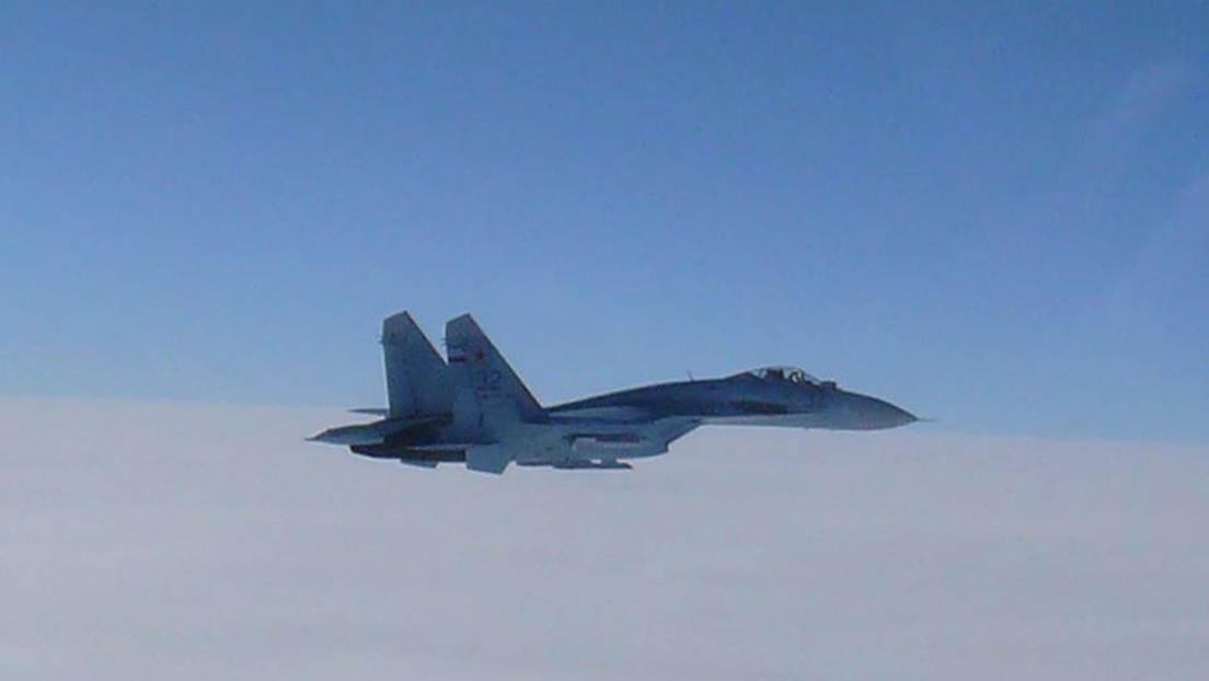 Un caza ruso intercepta a dos aviones espía de EE.UU. sobre el mar Negro