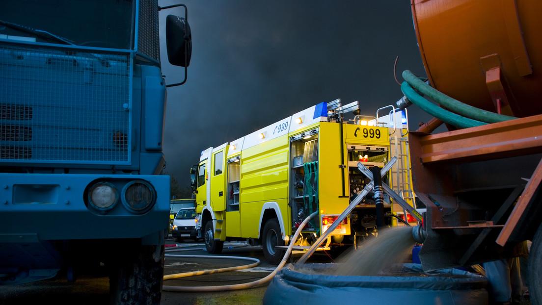 Emiratos Árabes Unidos: Se registra un gran incendio en un mercado de Ajmán (VIDEOS)