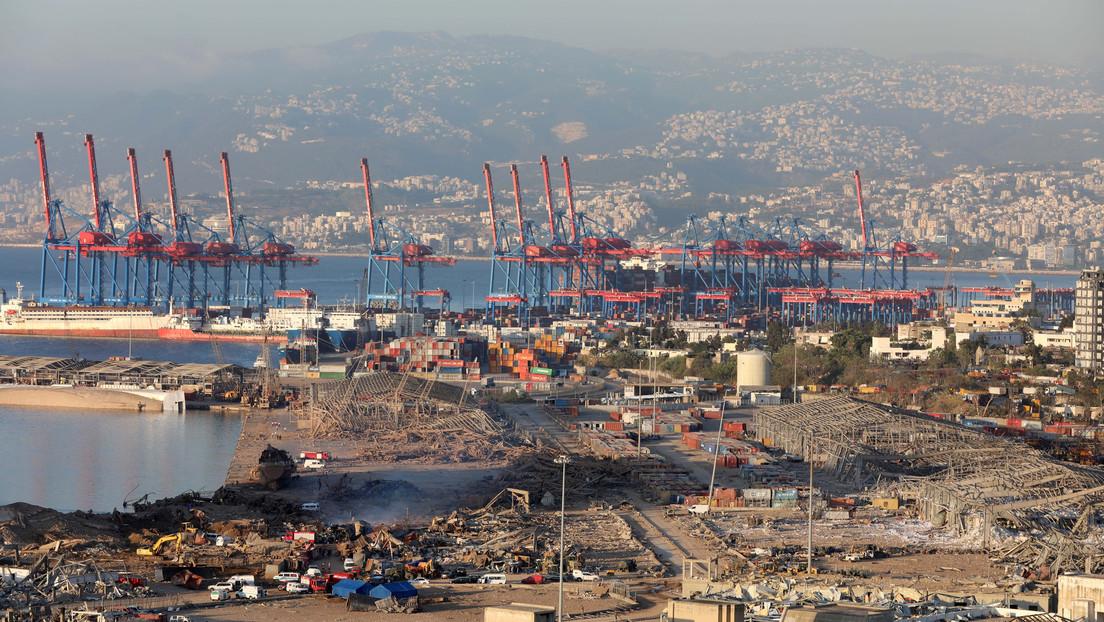 Beirut mantiene a funcionarios portuarios bajo arresto domiciliario mientras investiga las explosiones