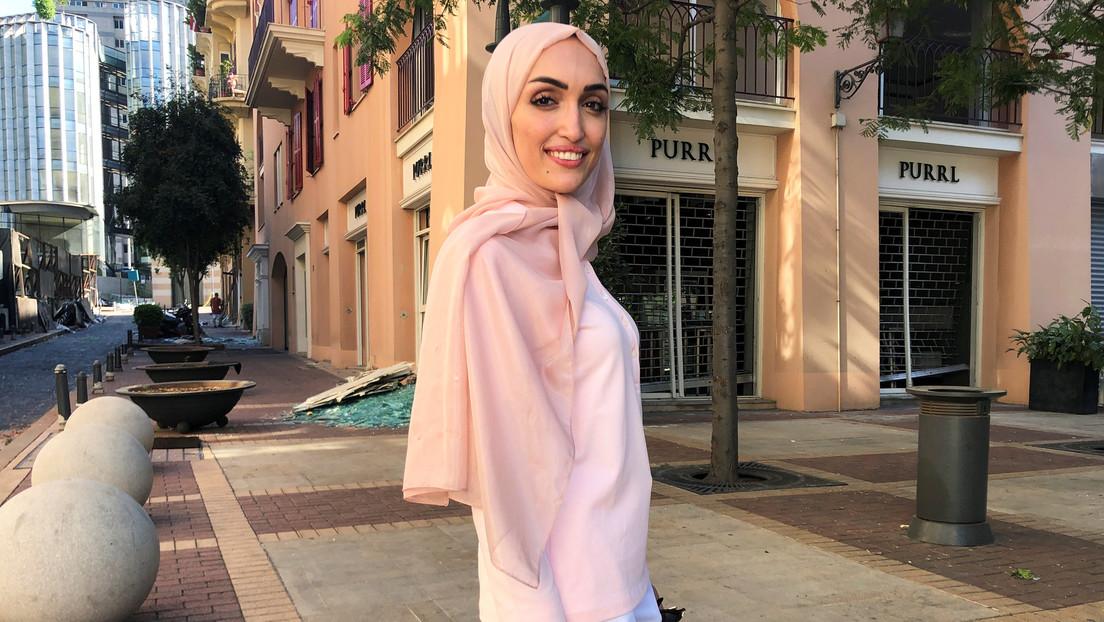 """""""¿Qué ha pasado? ¿Voy a morir?"""": habla la novia que estaba siendo fotografiada en el momento de la explosión en Beirut (VIDEO)"""