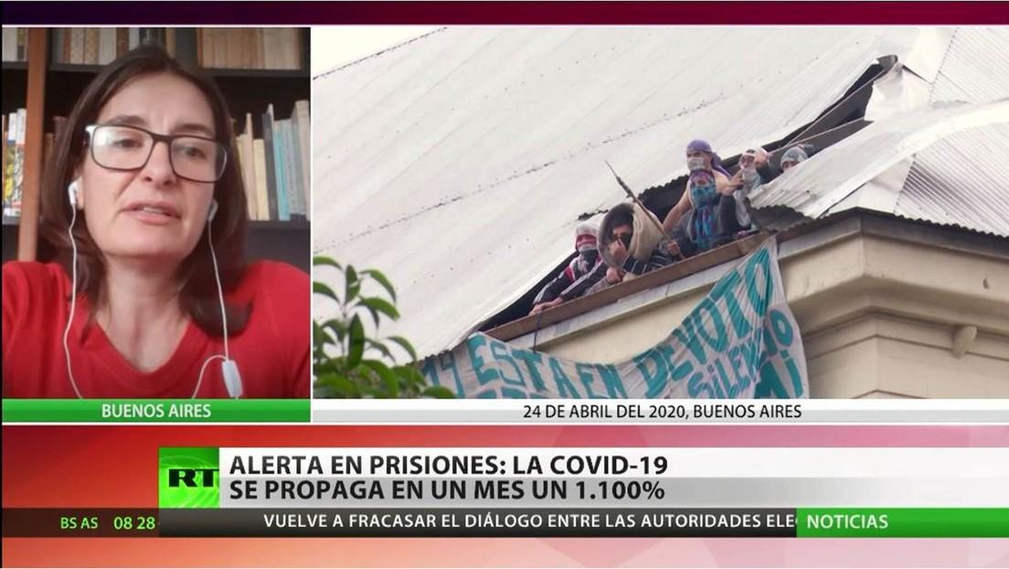 Alerta en las prisiones de Argentina tras un aumento del covid-19 del 1.100 % en un mes