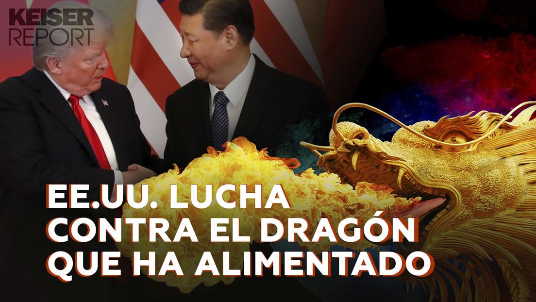 EE.UU. lucha contra el dragón que ha alimentado