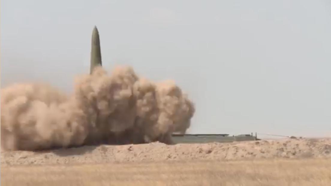 VIDEO: Rusia realiza un ataque masivo con misiles Iskander-M contra objetivos críticos de un enemigo simulado