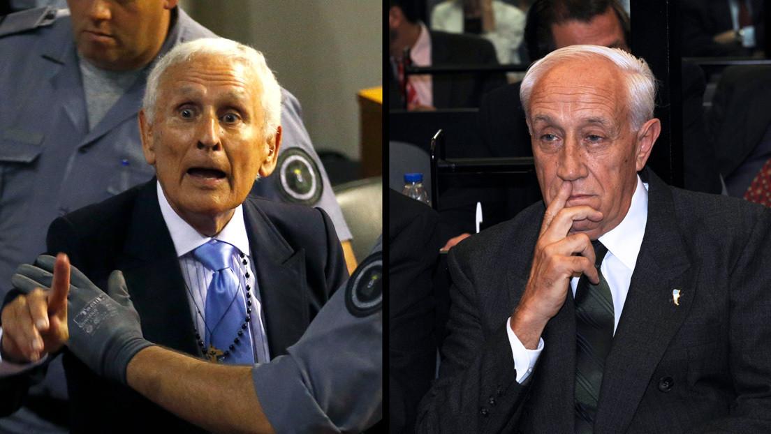 Etchecolatz y 'Tigre' Acosta, emblemáticos represores de la dictadura argentina, tienen coronavirus