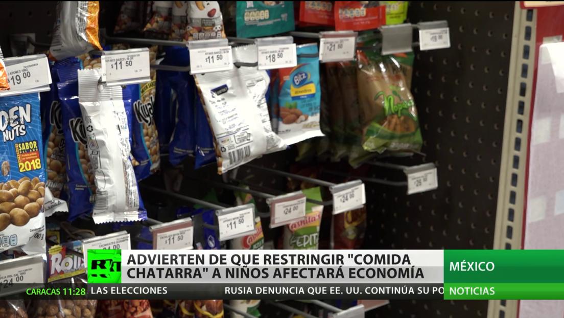 El sector industrial de México advierte que restringir la comida chatarra afectará a la economía