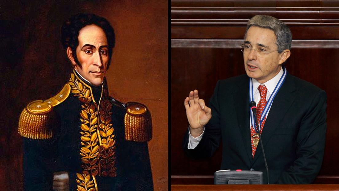 """""""Tiene una dimensión histórica muy grande"""": Una senadora colombiana compara a Uribe con Bolívar y las redes estallan"""