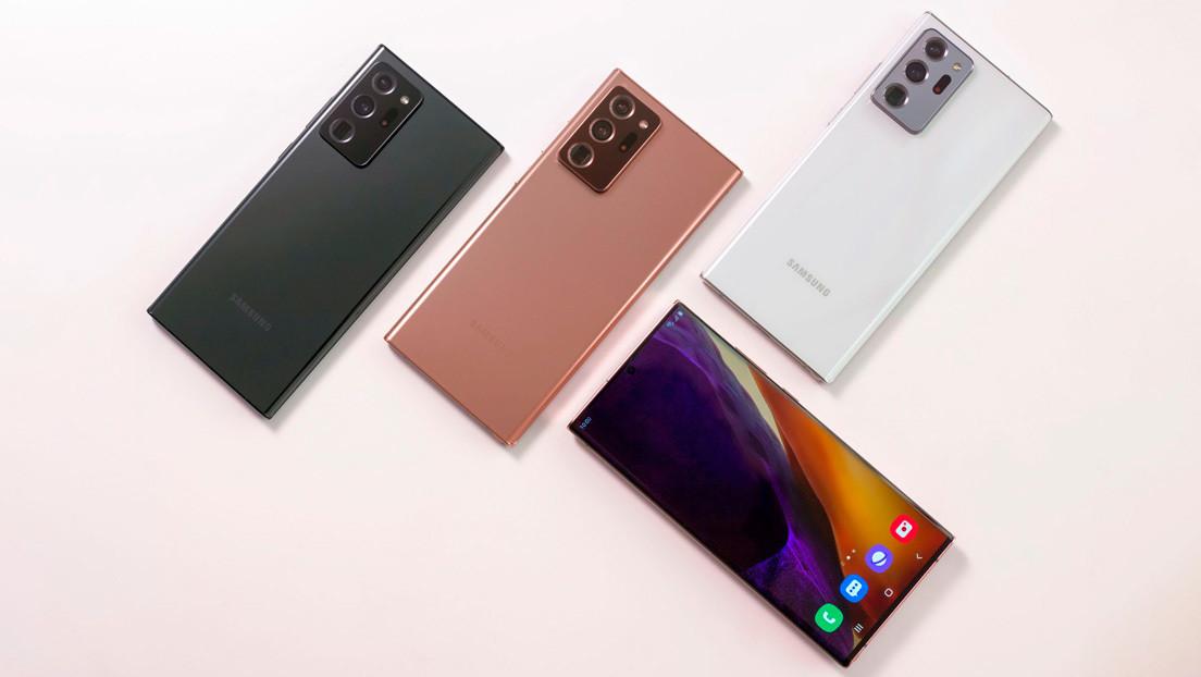 Samsung lanza nuevos Note 20, tabletas, audífonos, reloj y 'smartphone' plegable (VIDEO, FOTOS)