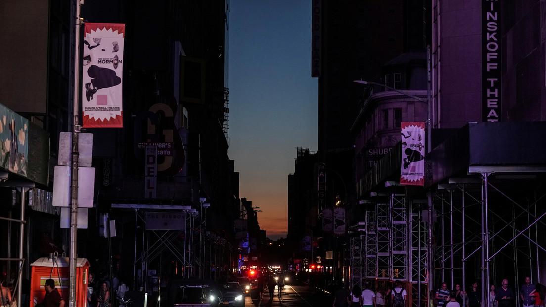 EE.UU.: Manhattan sufre un apagón masivo (VIDEOS)