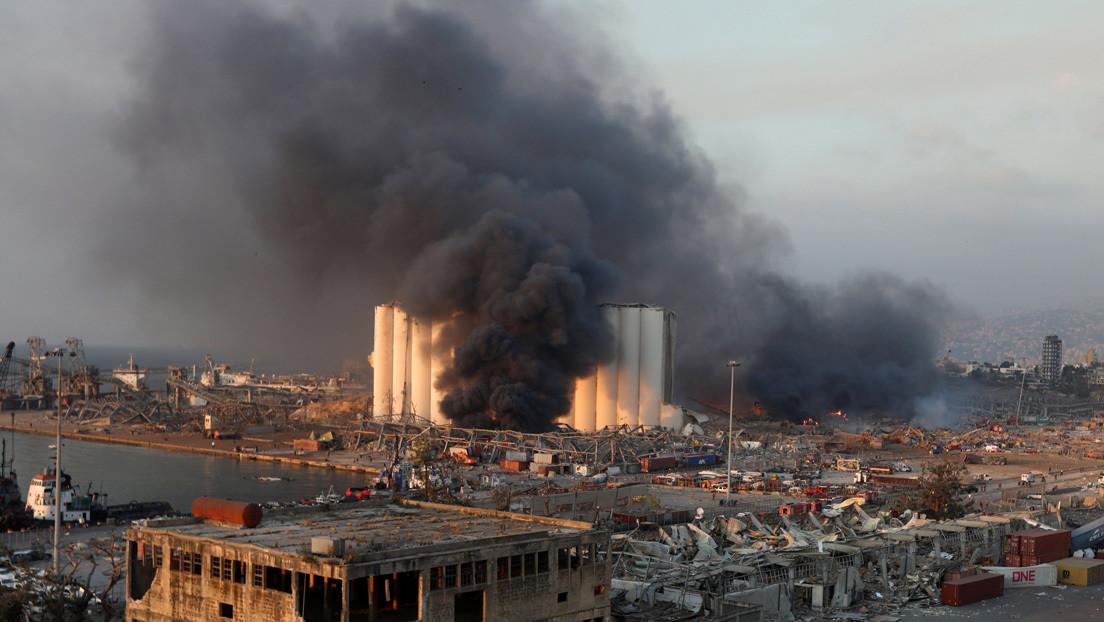 Sobrevive una pareja que transmitió en vivo las imágenes más cercanas de la explosión de Beirut (VIDEO)