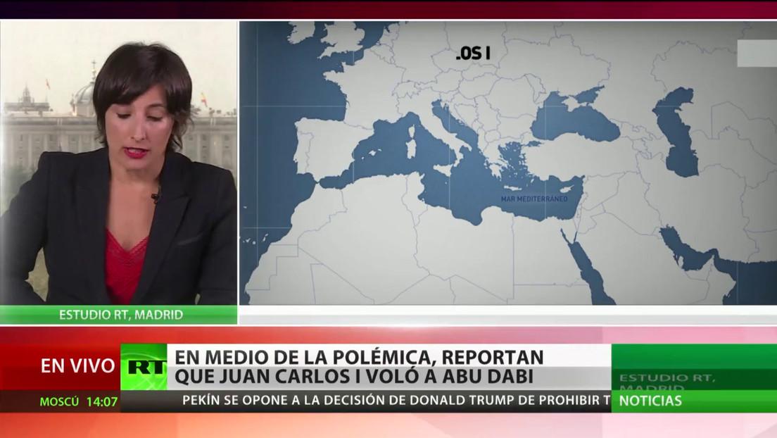 Reportan que el rey emérito español Juan Carlos I se encontraría en Abu Dabi