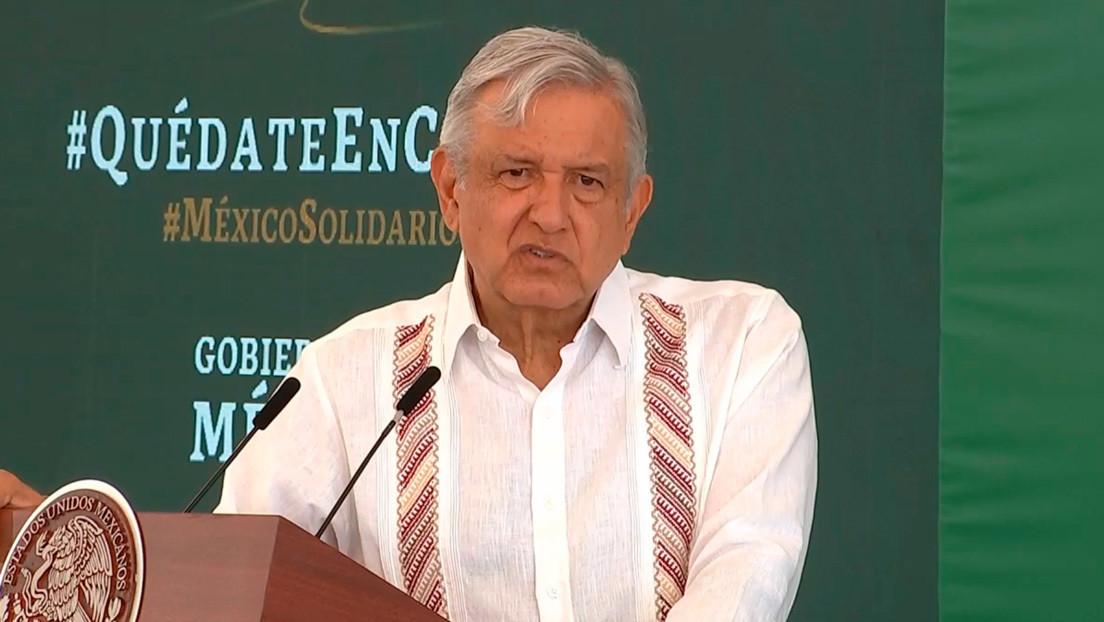 López Obrador defiende su gestión del coronavirus cuando México supera los 50.000 muertos thumbnail