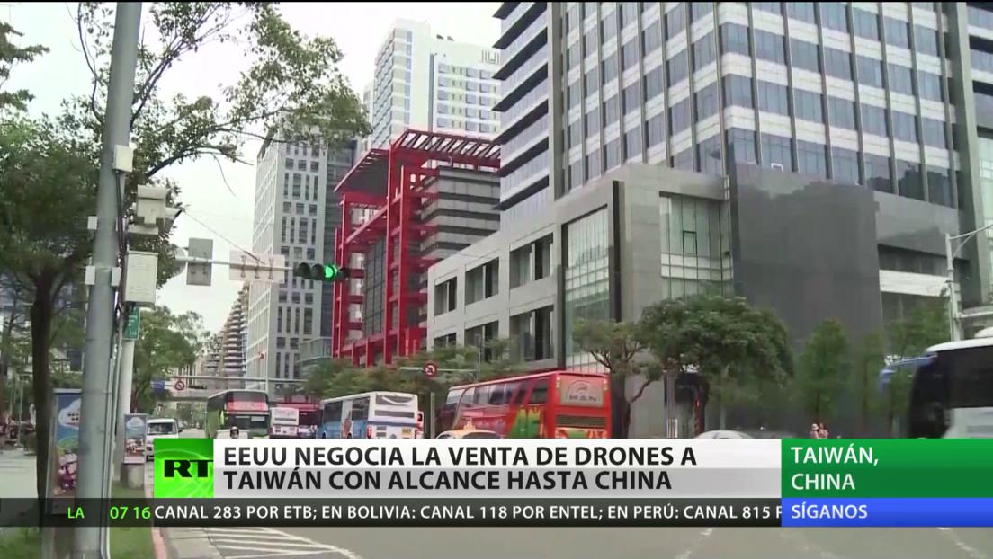 EE.UU. negocia la venta de drones a Taiwán con alcance hasta China