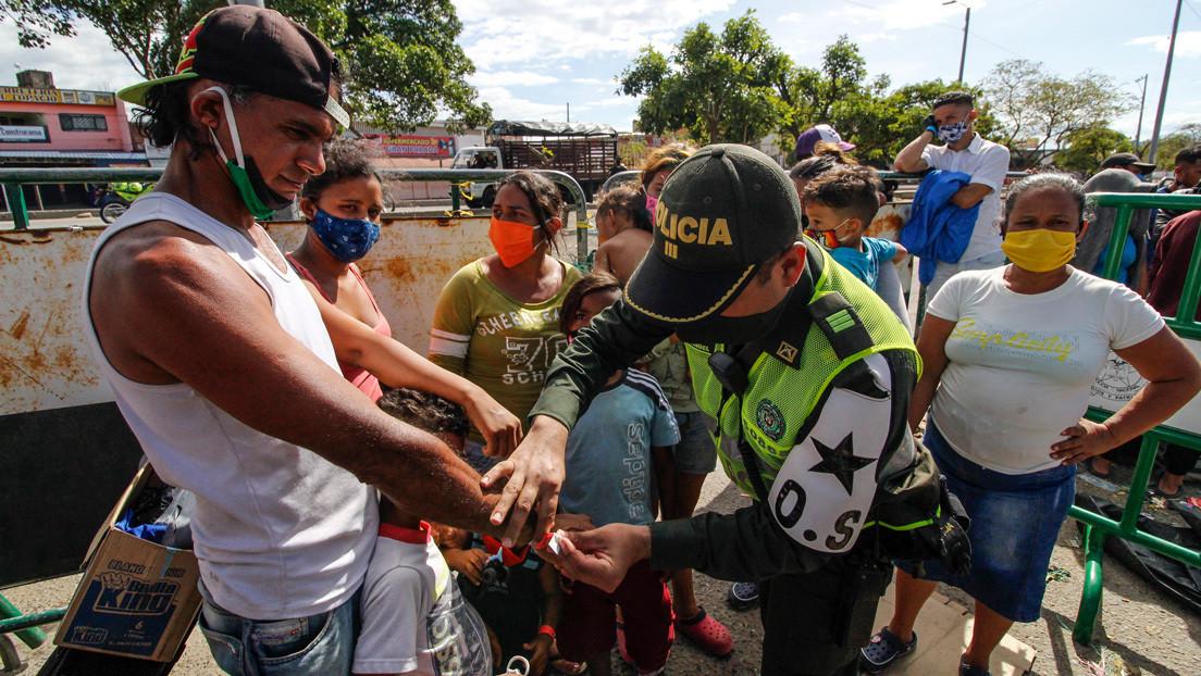 Colombia impone toque de queda y 'ley seca' en ciudad fronteriza con Venezuela para frenar la propagación del coronavirus