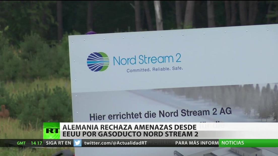 Alemania rechaza las amenazas de EE.UU. por la construcción del gasoducto ruso Nord Stream 2
