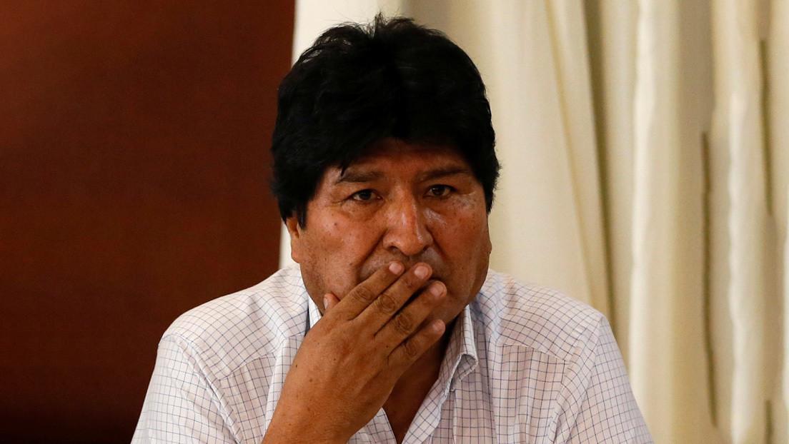"""Evo Morales denuncia que militares gestan """"un nuevo golpe de Estado"""" en Bolivia con ayuda de EE.UU."""