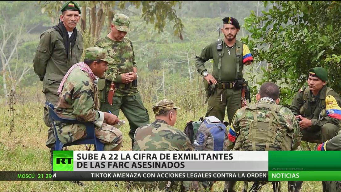 Colombia: Aumentan a 223 los exmilicianos de las FARC asesinados tras el Acuerdo de paz