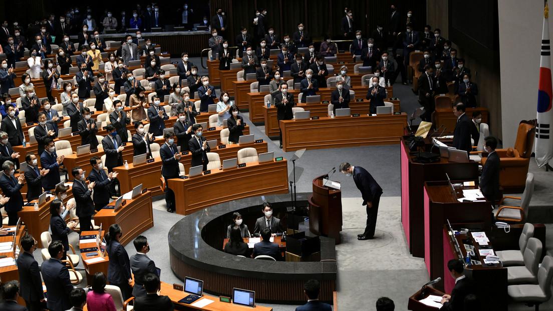 Corea del Sur: Critican a diputada que usó un vestido corto en el Parlamento