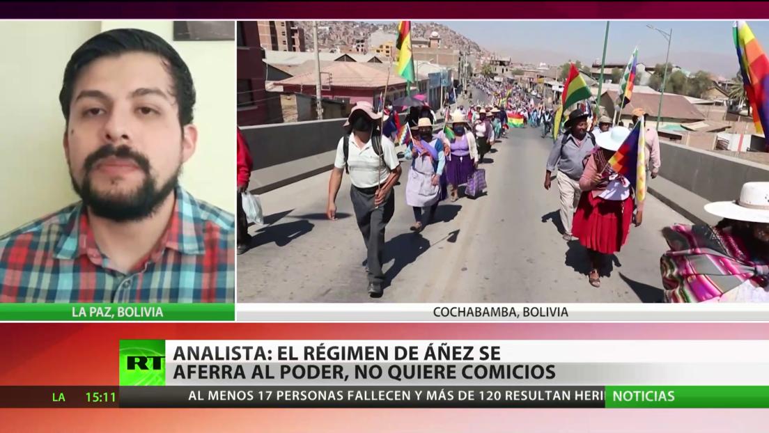 Analista: El Gobierno de Jeanine Áñez se aferra al poder y no quiere comicios