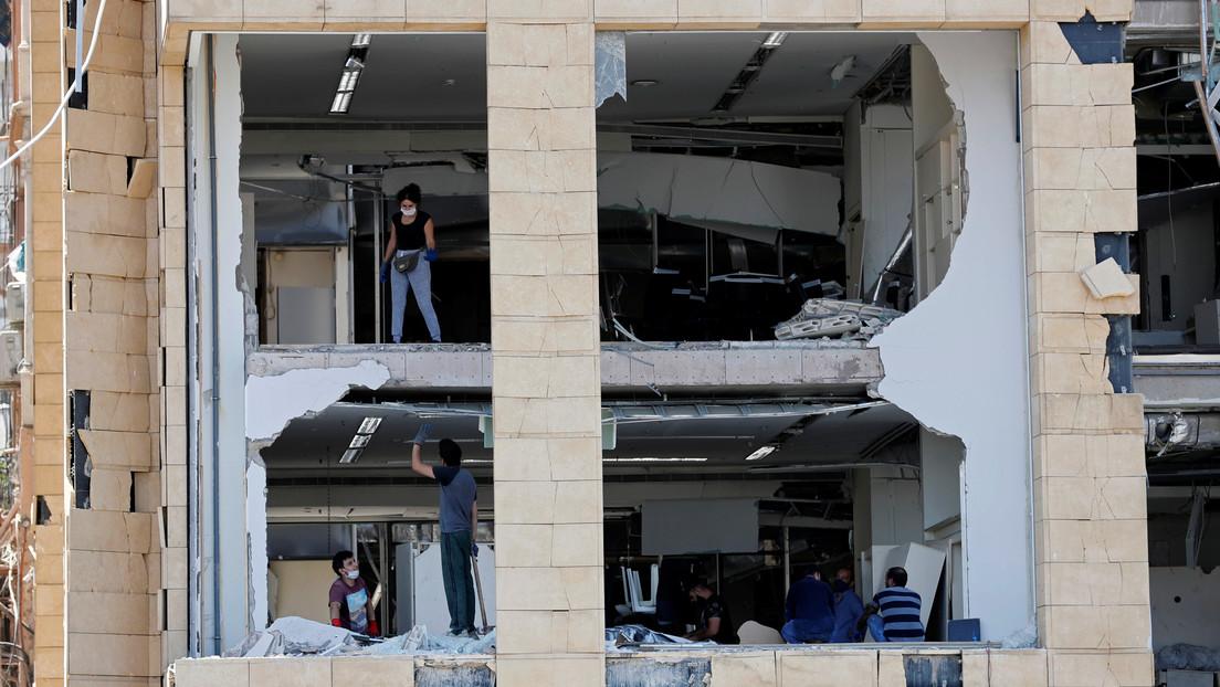 """""""No sé qué vamos hacer cuando llegue el invierno"""": Los habitantes de Beirut afrontan las devastadoras consecuencias de las explosiones"""
