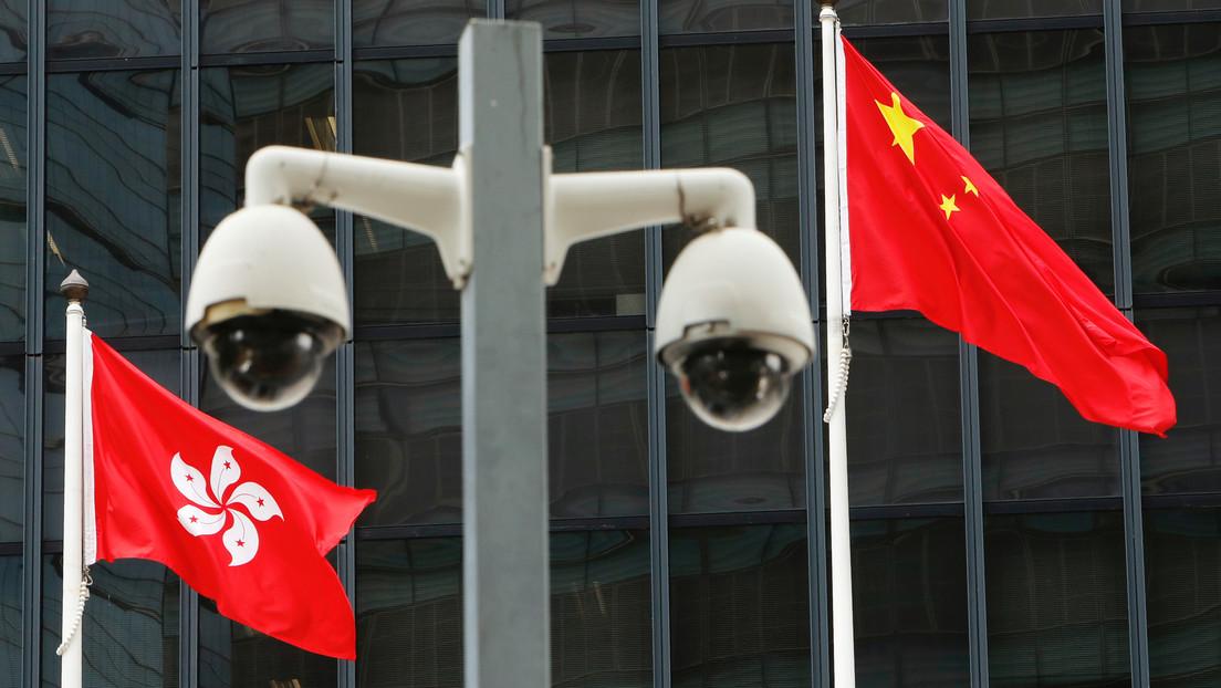 """""""Interferencia descarada"""": Hong Kong responde a las sanciones de EE.UU. y lo acusa de usar a la región como un """"peón"""" contra China"""