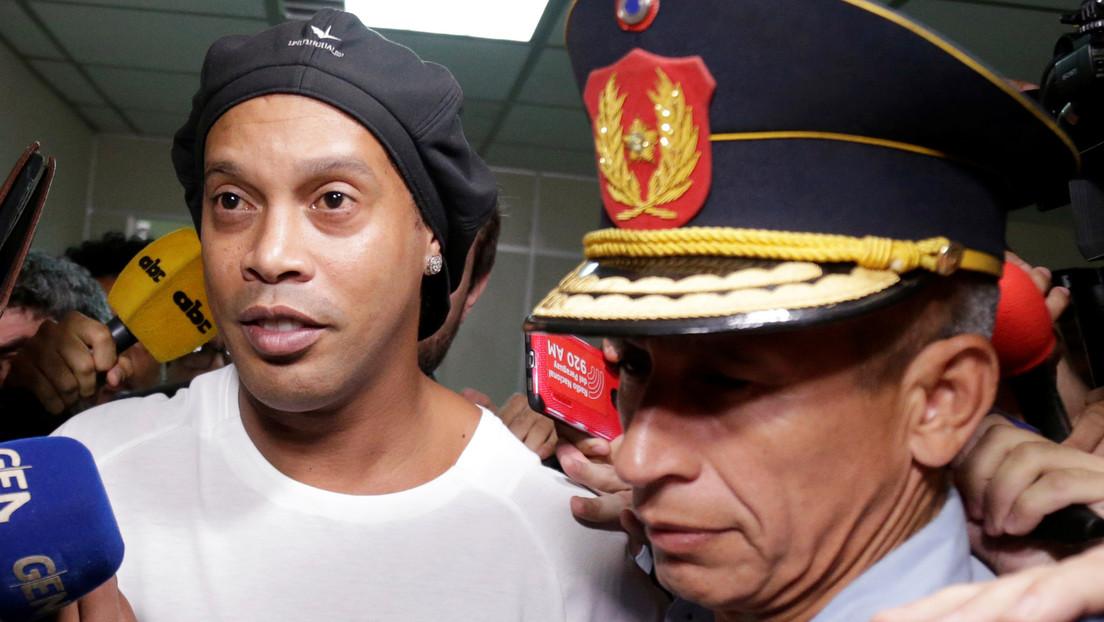 Ronaldinho, cerca de recuperar la libertad cinco meses después