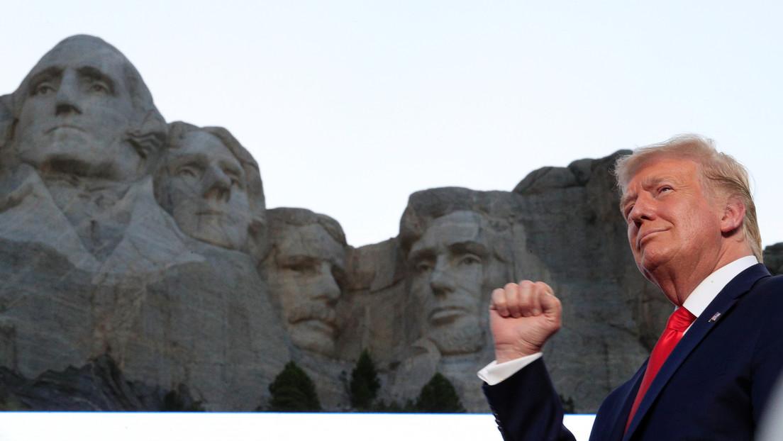 Un reporte confirma que Trump realmente quería agregar su rostro al Monte Rushmore