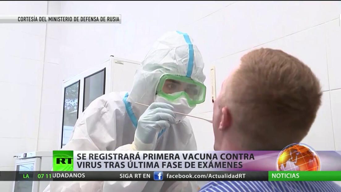 La vacuna rusa contra el covid-19 pasa por la última fase de exámenes antes de ser registrada