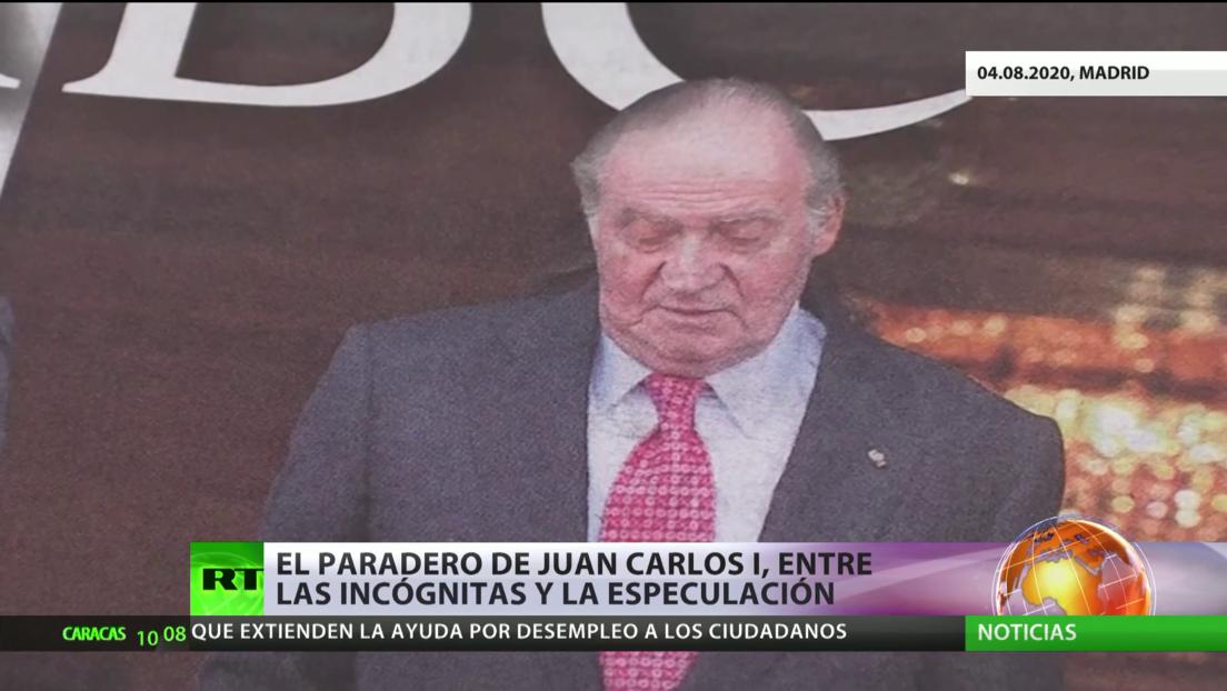 El paradero de Juan Carlos I, entre la incógnita y la especulación