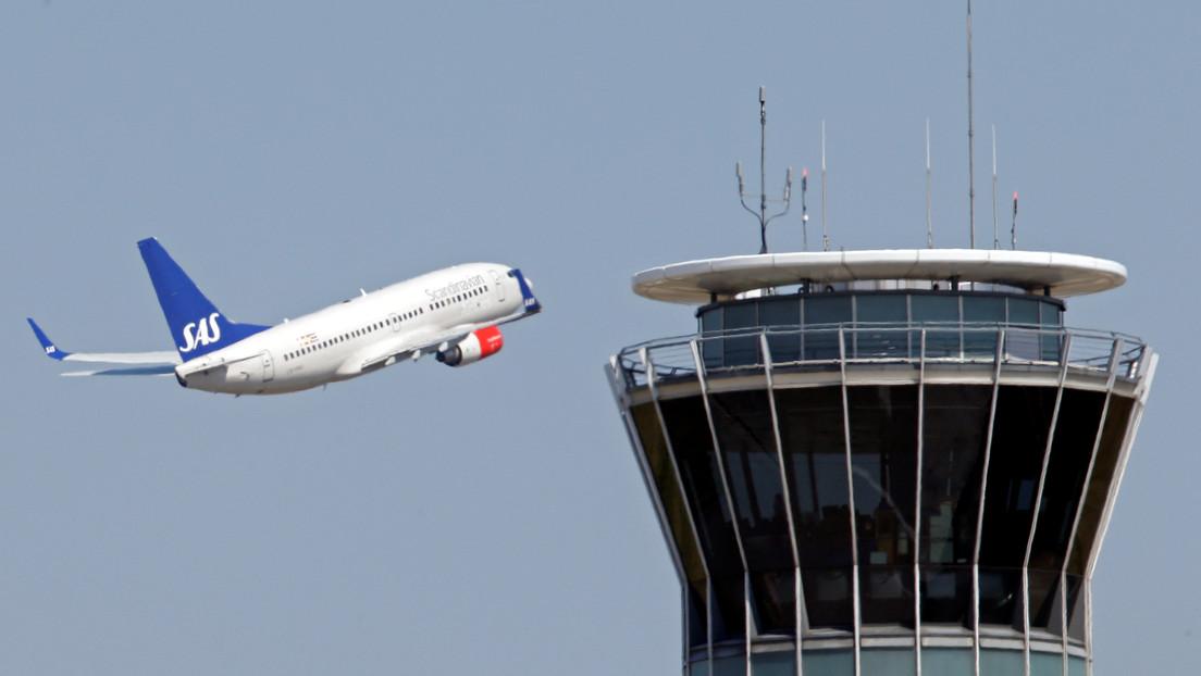 Los pasajeros de un avión de Francia que llegó a Noruega a medianoche no evitaron la cuarentena por un minuto