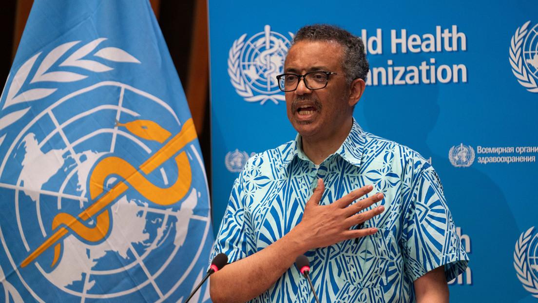 """Director de la OMS habla de """"brotes verdes de esperanza"""" en el manejo de la pandemia de covid-19"""