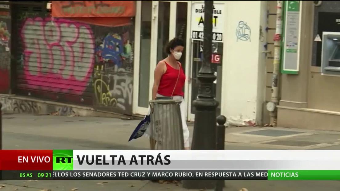 París decreta el uso obligatorio de mascarillas en ciertos puntos de la ciudad ante el avance del coronavirus