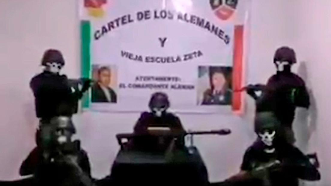 """""""O se alinean o se mueren"""": El cártel mexicano de Los Alemanes difunde un video con graves amenazas a grupos rivales y a las autoridades"""