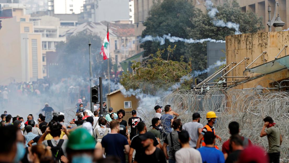 El Gobierno del Líbano anunciará su dimisión en medio de las masivas protestas