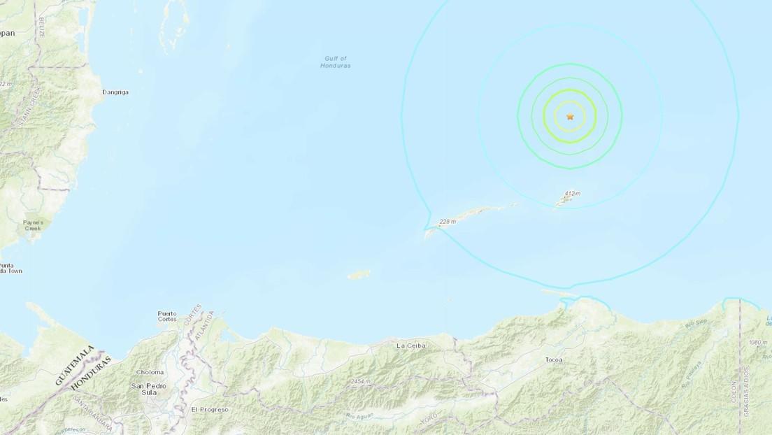 Se registra un terremoto de magnitud 5,7 en Honduras
